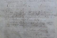 Rękopis - Akt Królewski Copia Vidimata