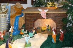 Szopka bożonarodzeniowa w Załężu