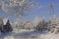 Zima w Załężu (fot. Paulina Zoła)