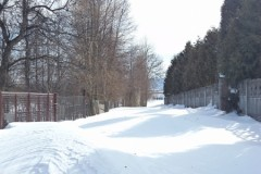 Zima znów w Załężu (17 marca 2013 r.)