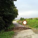 dziura w drodze Markuszka